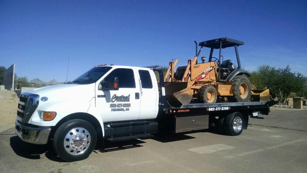 commercial vehicle towing - central towing